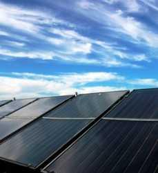 Riego por paneles solares