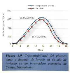 Factores que afectan la productividad del cultivo de tomate en invernadero: radiación