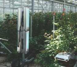Sistemas de control de patógenos por radiación UV