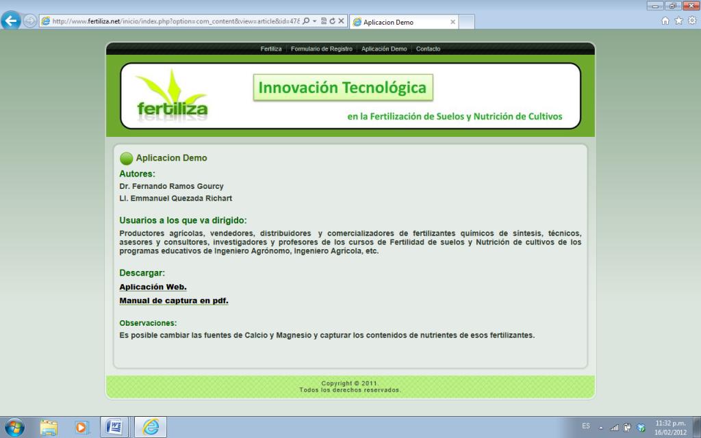 """Selecciona el enlace """"Aplicación Demo"""" y haz clic en """"Aplicación Web."""""""