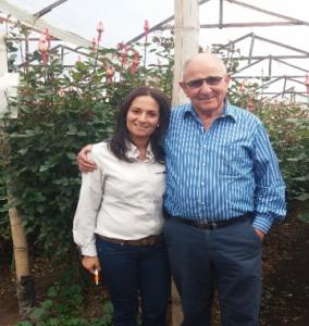 Sr. Peter Tirosh, fundador de Stockton Group visito junto con la Biologa Gabriela Sotelo, Representante Técnico-Comercial de Stockton en Colombia.